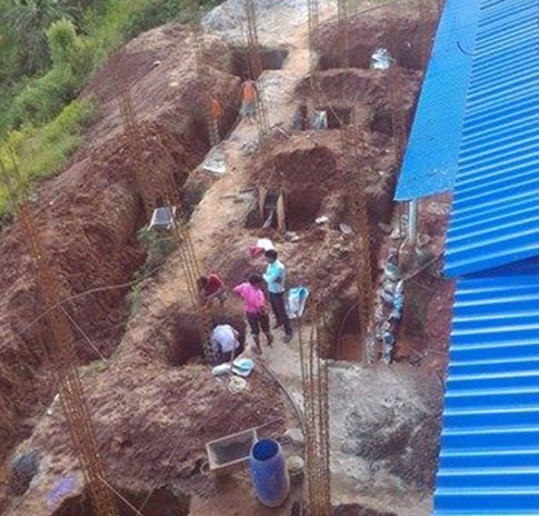 Quinn Emanuel collaborates with The Mountain Fund to build the Mankhu Emergency Center after the Nepal earthquake.