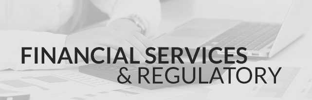 Financial Services & Regulatory