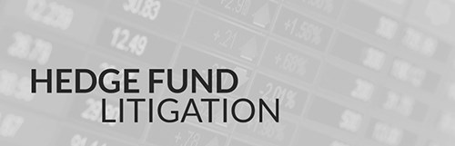 Hedge Fund Litigation