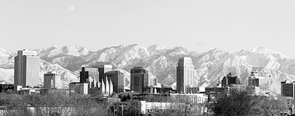Skyline of Salt Lake City