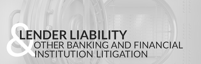 Lender Liability and Other Banking and Financial Institution Litigation