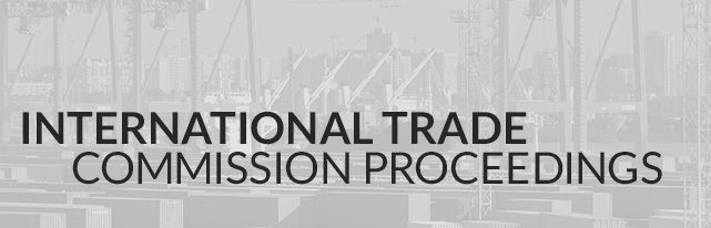 International Trade Commission Proceedings