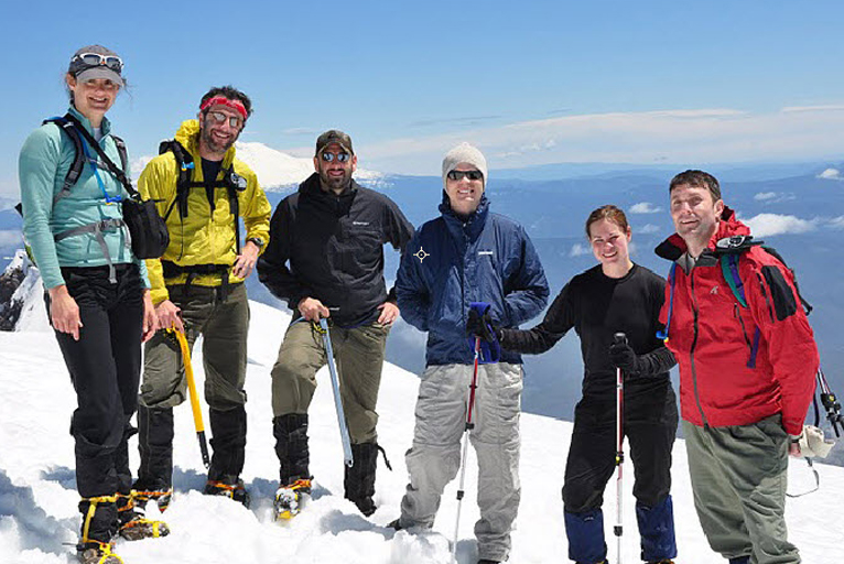 Quinn Emanuel's partners, associates and summer associates build friendships during firm-sponsored hikes.