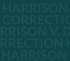 Harrison v. Dept. of Correction